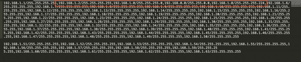 《攻防演练-Python-IP掩码处理小脚本》